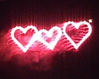 Lichterbild 3 Herzen
