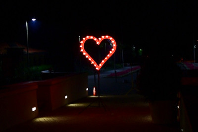 Lichterbild 'Herz'