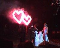 Lichterbild 2 Herzen